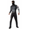 Marvels  Civil War Deluxe Mens Winter Soldier Costume